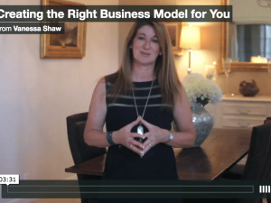 Creating the Right Business Model for You