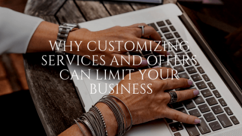 customizing services and offers