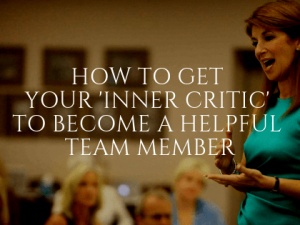 Controlling Your Inner Critic