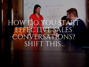 Preparing for Effective Sales Conversations