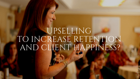 Upselling to Increase Retention and Client Happiness?