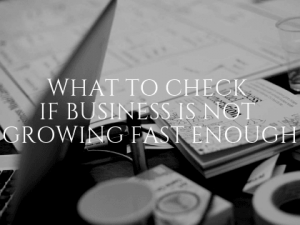 What to Check if Business is Not Growing Fast Enough
