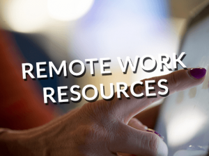 Remote Work Resources